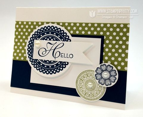 Stampin up pretty