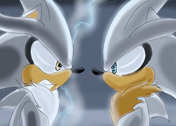 evil hyper silver the hedgehog silver and venice anit