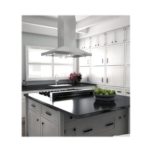 Zline 30 Externally Vented Range Hood Stainless Steel Gl2i 30 Best Buy Kitchen Island With Stove Stainless Range Hood Island With Stove