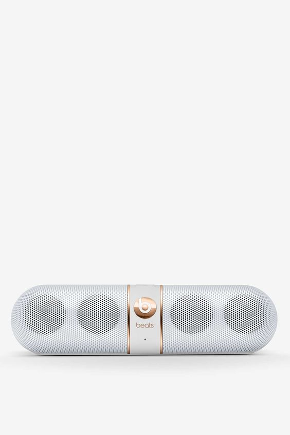 Beats by Dre Rose Gold Pill Wireless Speaker | I have this. I like it, though it's not the best sounding speaker out there. Looks great, though LOL!