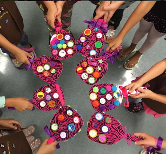 check out this awesome idea shared by girl scouts san