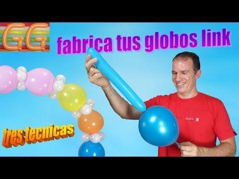 Como Hacer Globos Link Globoflexia Decoracion Con Globos