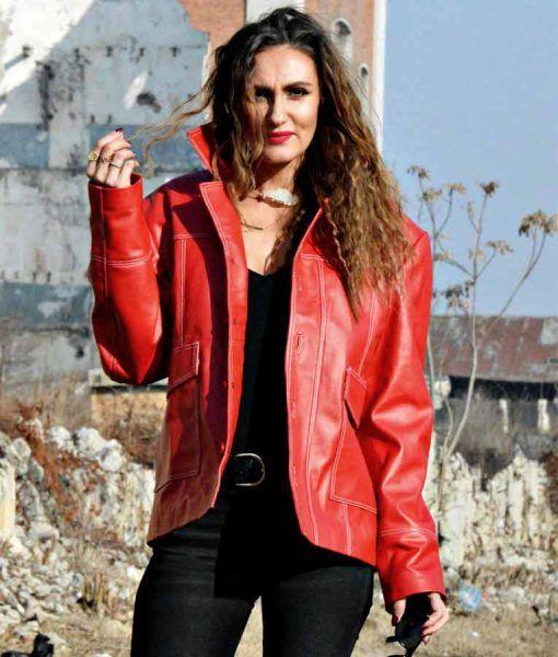 Skin2Fashion Womens Leather Jacket 179