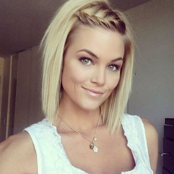 Cool Blonde Hair Hair With Layers And Braid Hair On Pinterest Short Hairstyles For Black Women Fulllsitofus