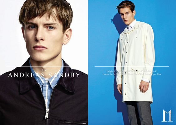 Andreas Sandby  LCM — Show Packages A/W 15