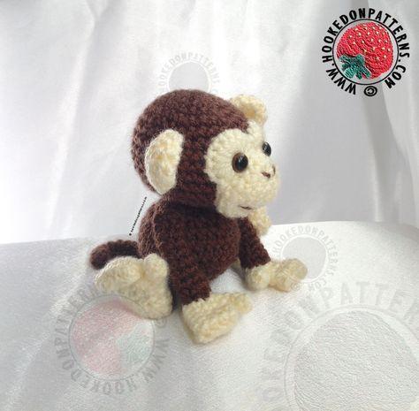 Monkey Crochet Pattern Maurice Affen Und Kreativ