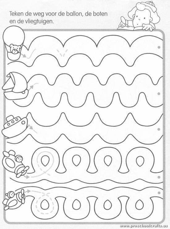 21+ Preschool worksheets dotted lines Images