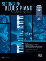 Sitting In: Blues Piano (Book & DVD-ROM)
