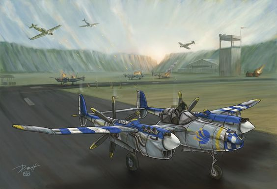Lightning Aircraft Experimental Model by Kopetkai on deviantART