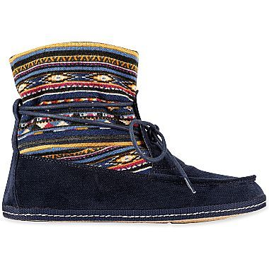 How cute are these? Saw a girl wearing them on the subway today. K9 by Rocket Dog® Nilla Slip-On Booties @jcpenney