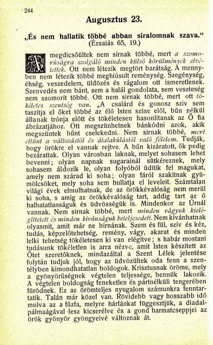 08.23. Spurgeon: Harmatgyöngyök...