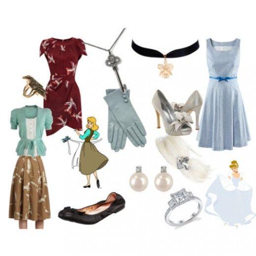 Cinderella Disney Outfits - via @Kenny Milano