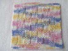 Free+Knitting+Pattern+-+Dishcloths+&+Washcloths+:+Seed+Block+Dishcloth