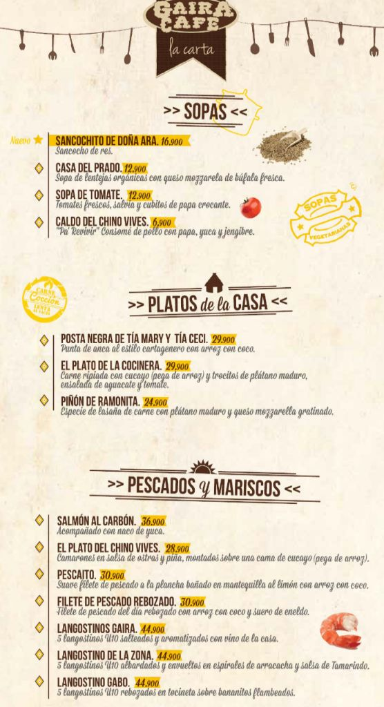 CARTA u2013 GAIRA CAFÉ - pega architect sample resume