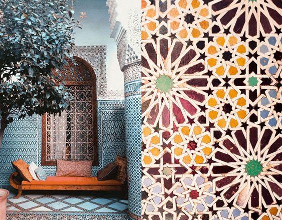 モロッコインテリア 柄 イメージ