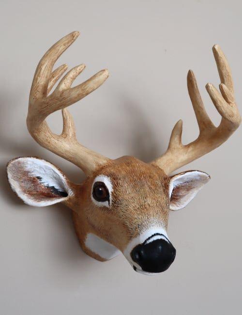 Paper Mache Deer Head Pattern Paper Mache Deer Head Paper Mache