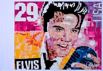 Elvis Collage - by Anderson Thives