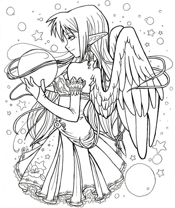anime vampire coloring pages coloring pinterest