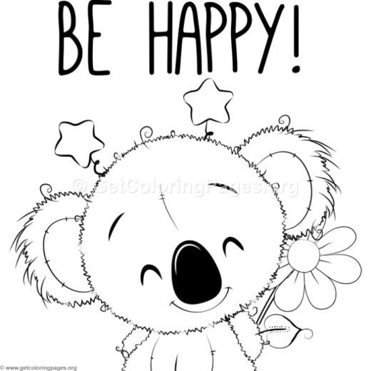 koala coloring page for kids #koala coloring page for kids #coloringpages # coloring #colori… | Bear coloring pages, Zoo animal coloring pages, Animal coloring  pages | 520x520