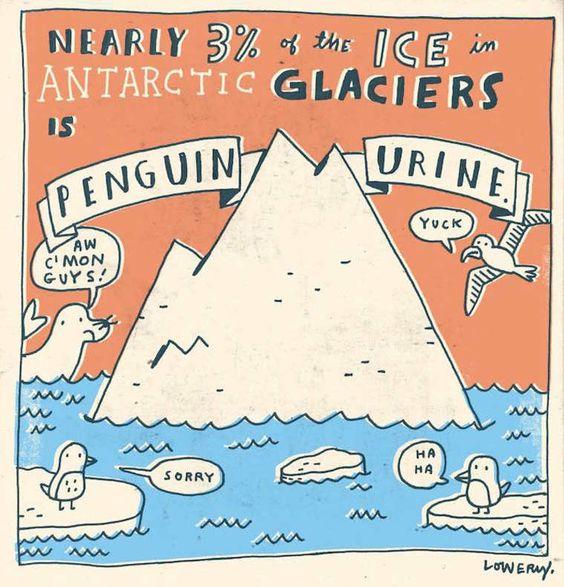 Random Facts – Une série adorable de faits insolites illustrés par Mike Lowery: