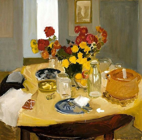 """Still Life with Casserole"", 1955, by Fairfield Porter (American, 1907-1975)"