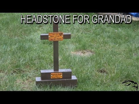 Pet Headstone Memorial Diy Project Easy To Make To Honor