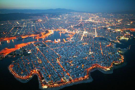 Piraeus by night.. ΑΩ!