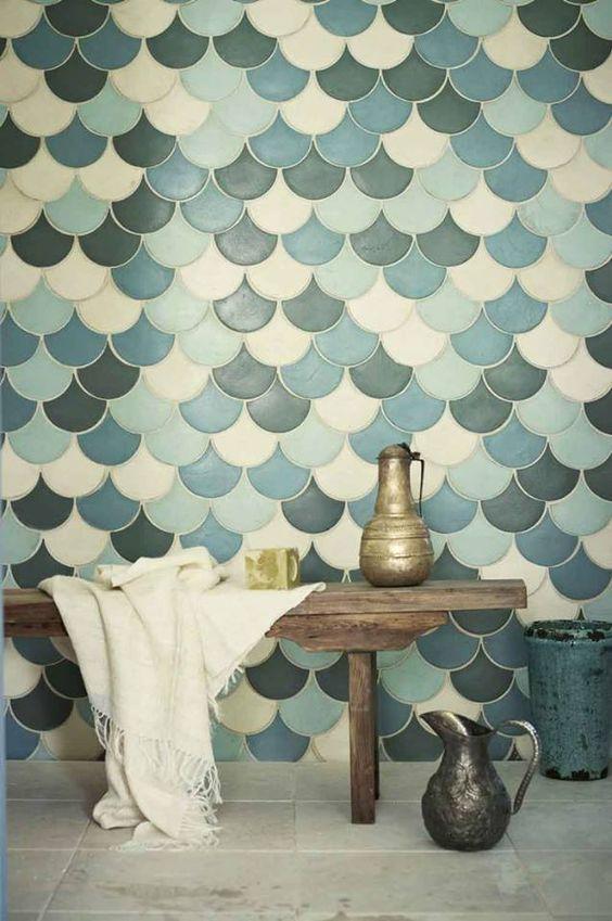 azulejos inspiradores! Puede que sea una de las decoraciones del aseo, y baño principal