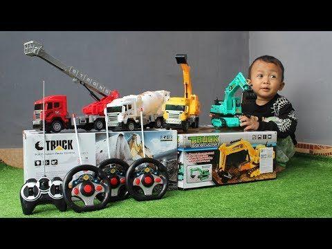 Unboxing Mainan Mobil Truk Excavator Damkar Mobil Molen Mobil Beko Koleksi Mainan Rc Youtube Mobil Mainan Truk