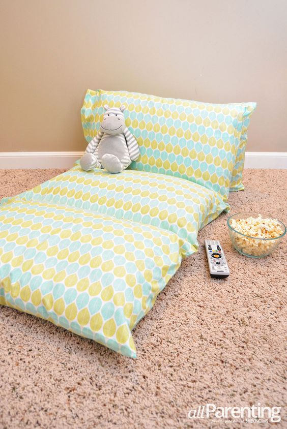 Lounge Pillows For Floor : allParenting pillow case lounger Home and DIY Pinterest Cases, Movie nights and Guest bed