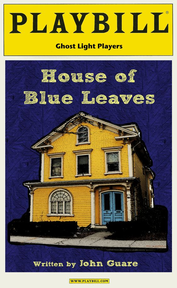 House of Blue Leaves Playbill