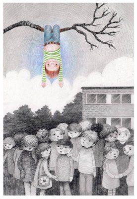 Non ci sono estranei, solo amici che non hai ancora incontrato. There are no strangers, only friends you have not met yet. (William Butler Yeats) Illustrazione di Kathy Hare.: