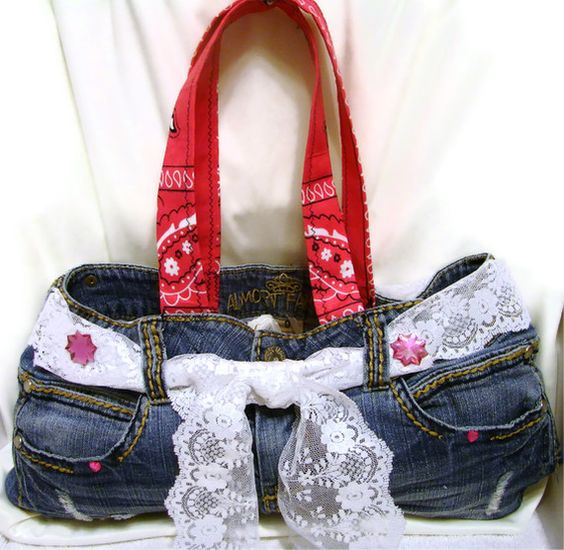 Things to do with Denim....  by Marsha Bourquin