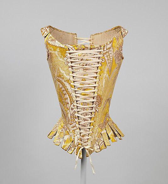 Date: 1770s Culture: Italian Medium: silk Dimensions: [no dimensions available] Credit Line: Gift of The Metropolitan Museum of Art, 1940