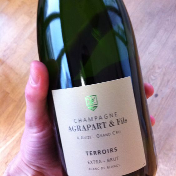 Agrapart Terroirs, blanc de blancs extra-brut http://www.champagne-agrapart.com/Terroirs-7.aspx