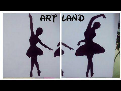 رسم فتاه راقصة باليه سهل للمبتدئين رسم فتاه ترقص خطوه بخطوه Youtube Art Blog Make It Yourself