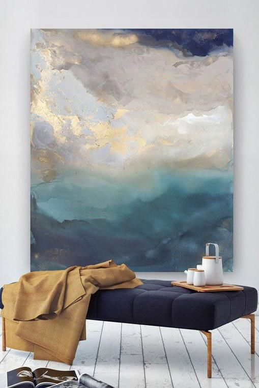 Modern Living Room Design Latest Drawing Room Interiors House Living Room Ideas 20 Contemporary Abstract Art Abstract Art Painting Abstract Canvas Painting