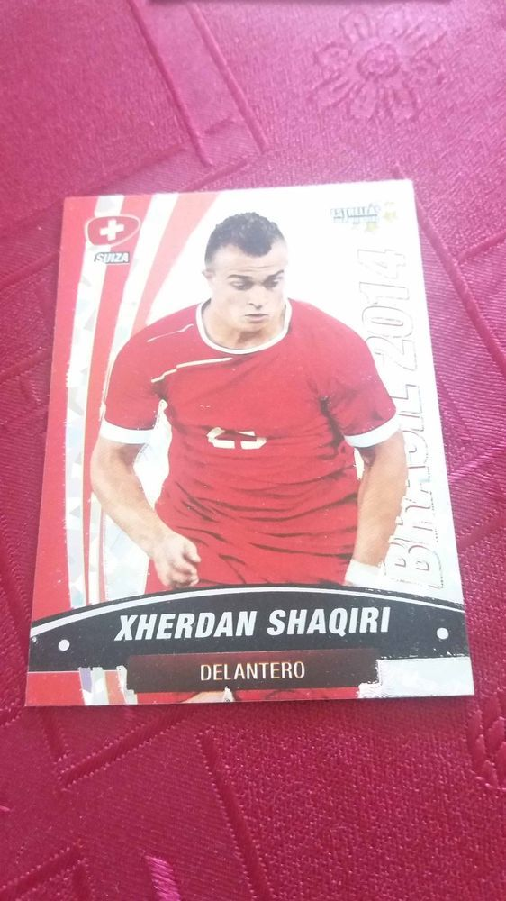 Xherdan Shaqiri Switzerland Stoke City Bayern Munich 97 World Cup 2014 Navarett Germany Fifa World Cup Stoke City
