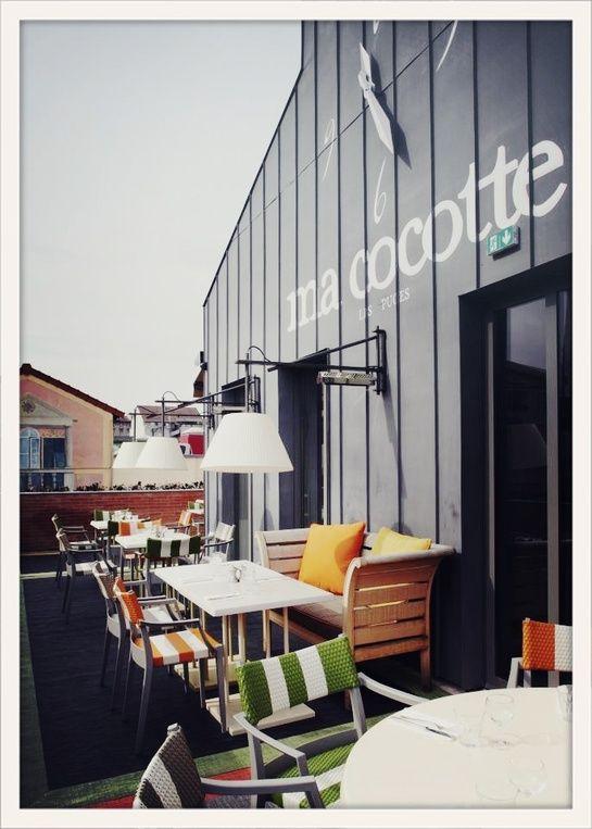 Le guide du week end sp cial terrasses parisiennes loft restaurant et phil - Ma cocotte rue des rosiers ...