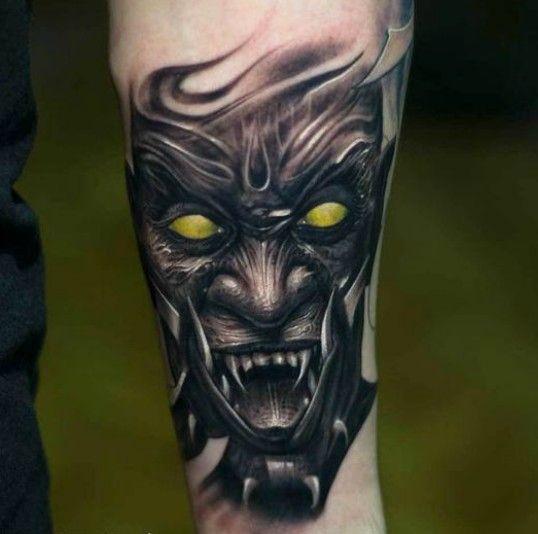 Tattoo Woman Demonic: Demon Tattoo, Google And Search On Pinterest
