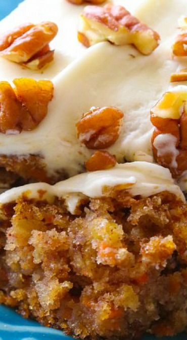 Carrot cake recipe with applesauce