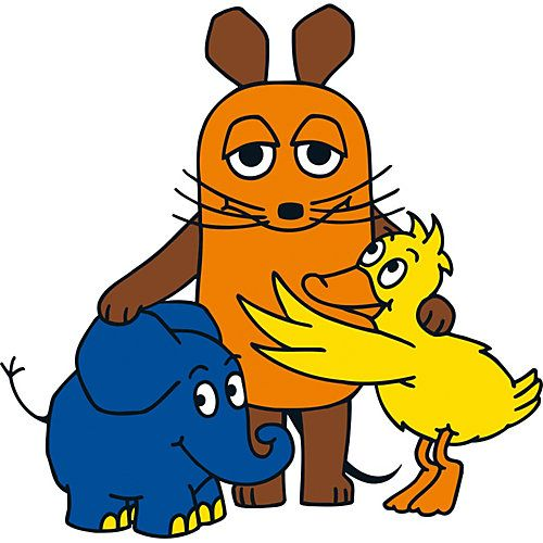 Wandtattoo Sendung Mit Der Maus Maus Elefant Und Ente Die Maus Sendung Mit Der Maus Maus Elefant Elefant