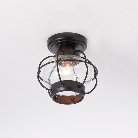 Nautical Onion Outdoor Ceiling Light Ceiling Lights