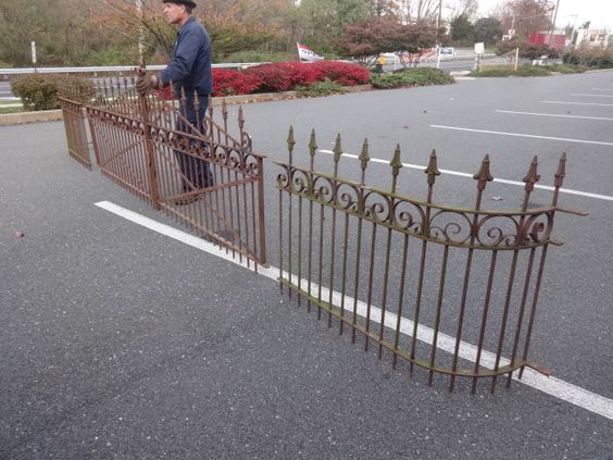 Antique Iron Fence and Driveway Gates, Tables & Beds for Sale in PA | Oley Valley Architectural Antiques Ltd.