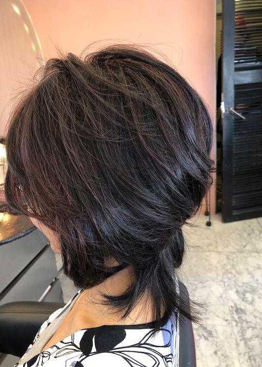 40代 50代 60代ヘアスタイル ミディアム 60代 ヘアスタイル ヘアスタイル 髪型