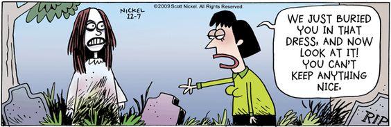 Eek! Comic Strip, December 07, 2009 on GoComics.com