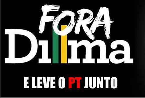 Fora Dilma!: