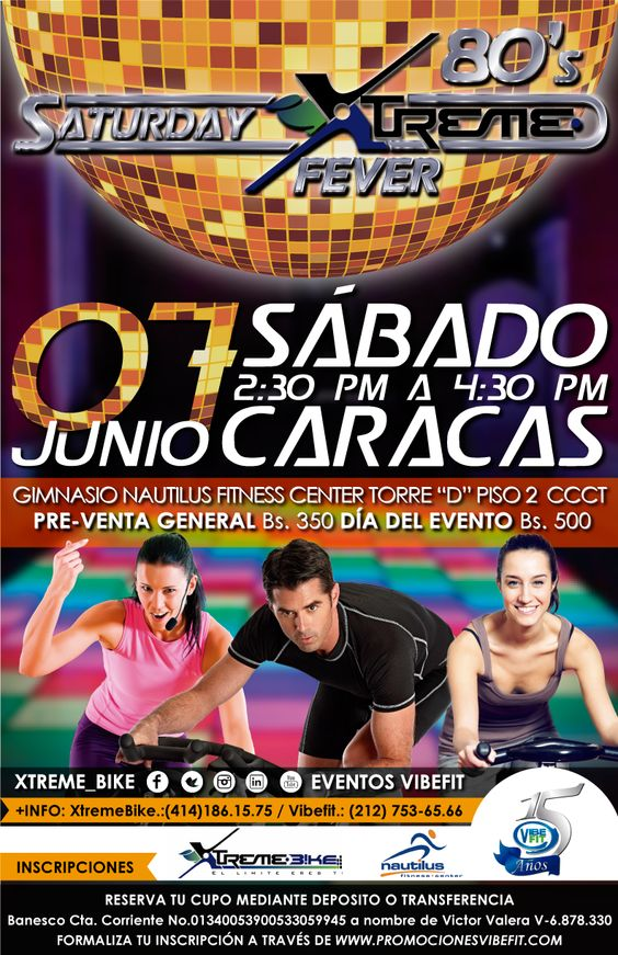 Afiche impreso realizado para una clase fitness / Printed poster made for a fitness class.