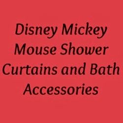 Shower Curtains For Your home: Mickey Mouse Shower Curtain