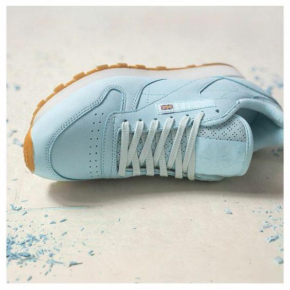 baby blue reebok classics